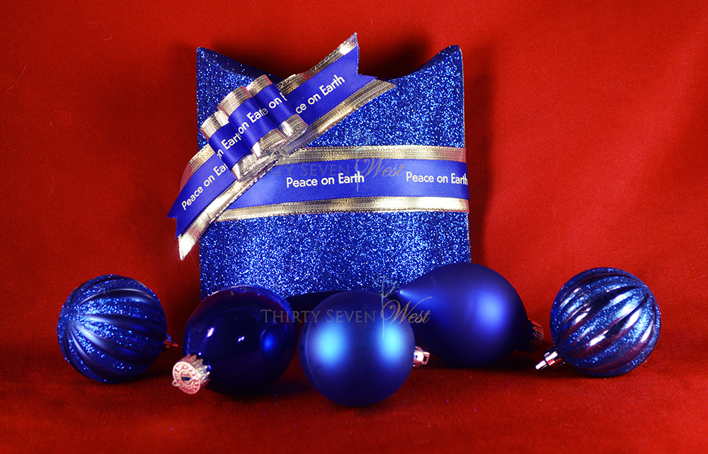 Use your imagination!  Customize a blue Happy Hanukkah ribbon with any saying that lights you up!  Be it fun, funny, inspiring, warm, healing, loving, memorable....a message on a ribbon can be something they keep for a very long time!